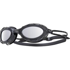 TYR Nest Pro duikbrillen Metelized zwart